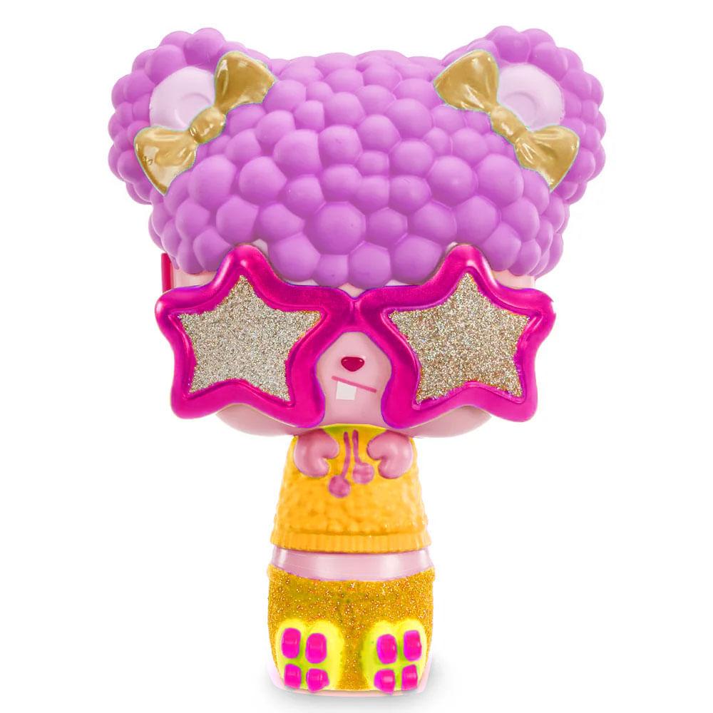 Mini Boneca e Acessórios Surpresa - Pop Pop Hair - 3 em 1 - Boogie - Candide