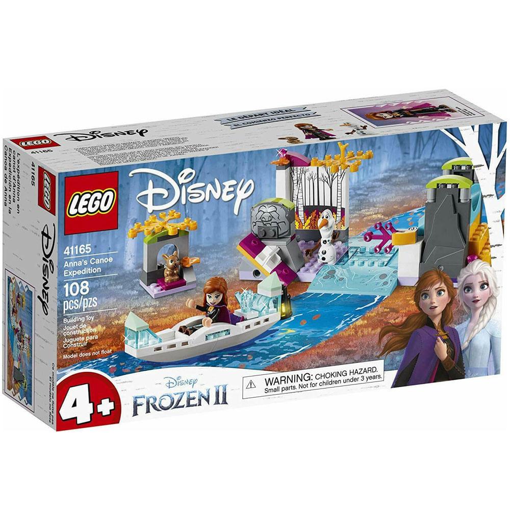 LEGO Disney - Disney Frozen 2 - Expedição de Canoa da Anna - 41165