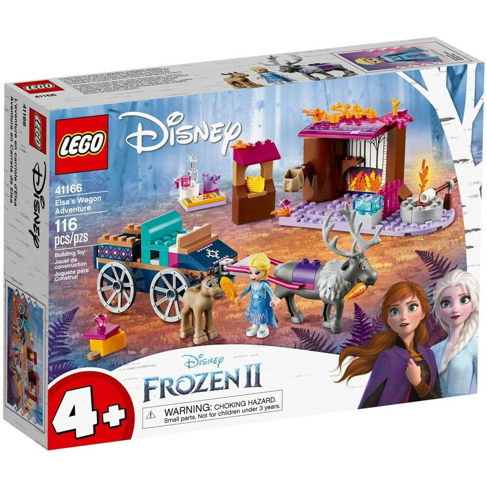 LEGO Disney - Disney Frozen 2 - Aventura de Carroça da Elsa - 41166
