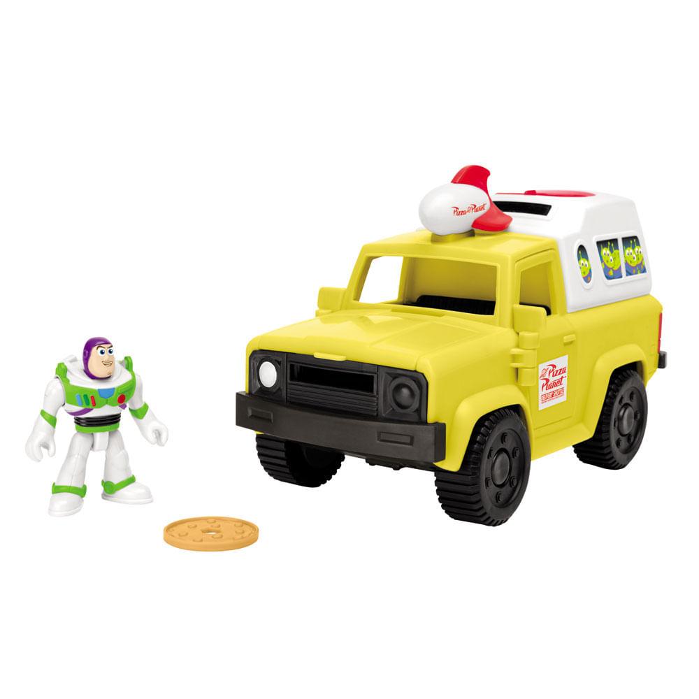 Mini Figura e Veículo - 20 Cm - Buzz Lightyear - Imaginext - Disney - Pixar - Toy Story 4 - Fisher-Price