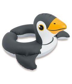 Acessorios-de-Praia-e-Piscina---Boia-com-Cabeca---Baby-Zoo---Pinguim---New-Toys_Frente