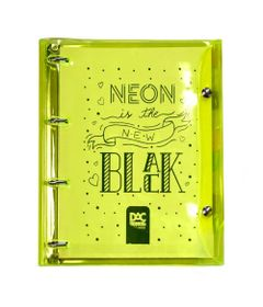 fichario-universitario-4-argolas-neon-new-black-amarelo-192-folhas-dac-2396AM_Frente