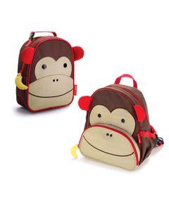 Kit-com-Lancheira-Termica-e-Mochila---Zoo---Macaco---Skip-Hop