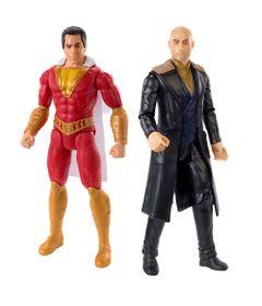 Kit-de-Bonecos-Articulados---30-Cm---DC-Comics---Shazan---Shazan-e-Dr-Silvana---Mattel