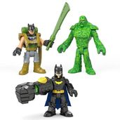 Kit-de-Mini-Bonecos---7Cm---Imaginext-DC-Comics---Super-Amigos---Batman-e-Monstro-do-Pantano---Fisher-Price