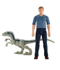 Kit-de-Mini-Figuras---7Cm---Imaginext---Jurassic-World---Owen-Grady-e-Velociraptors---Fisher-Price