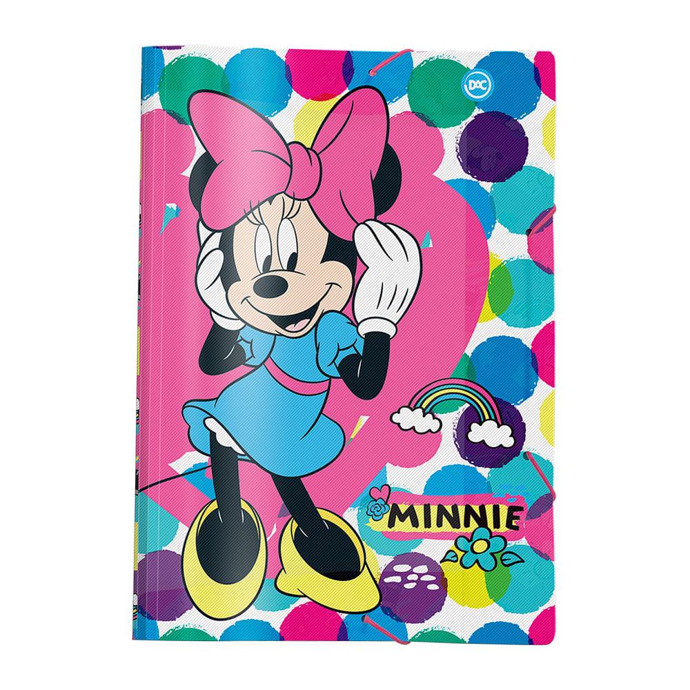 Pasta Aba com Elástico - 33x23 Cm - Disney - Minnie Mouse - DAC