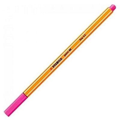 caneta-hidrografica-4mm-point-neon-rosa-chiclete-stabilo-inativo_frente