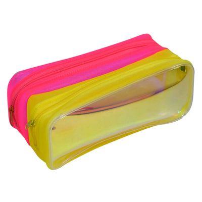 estojo-escolar-duplo-20x9-cm-neon-amarelo-e-rosa-dac-E216_Frente