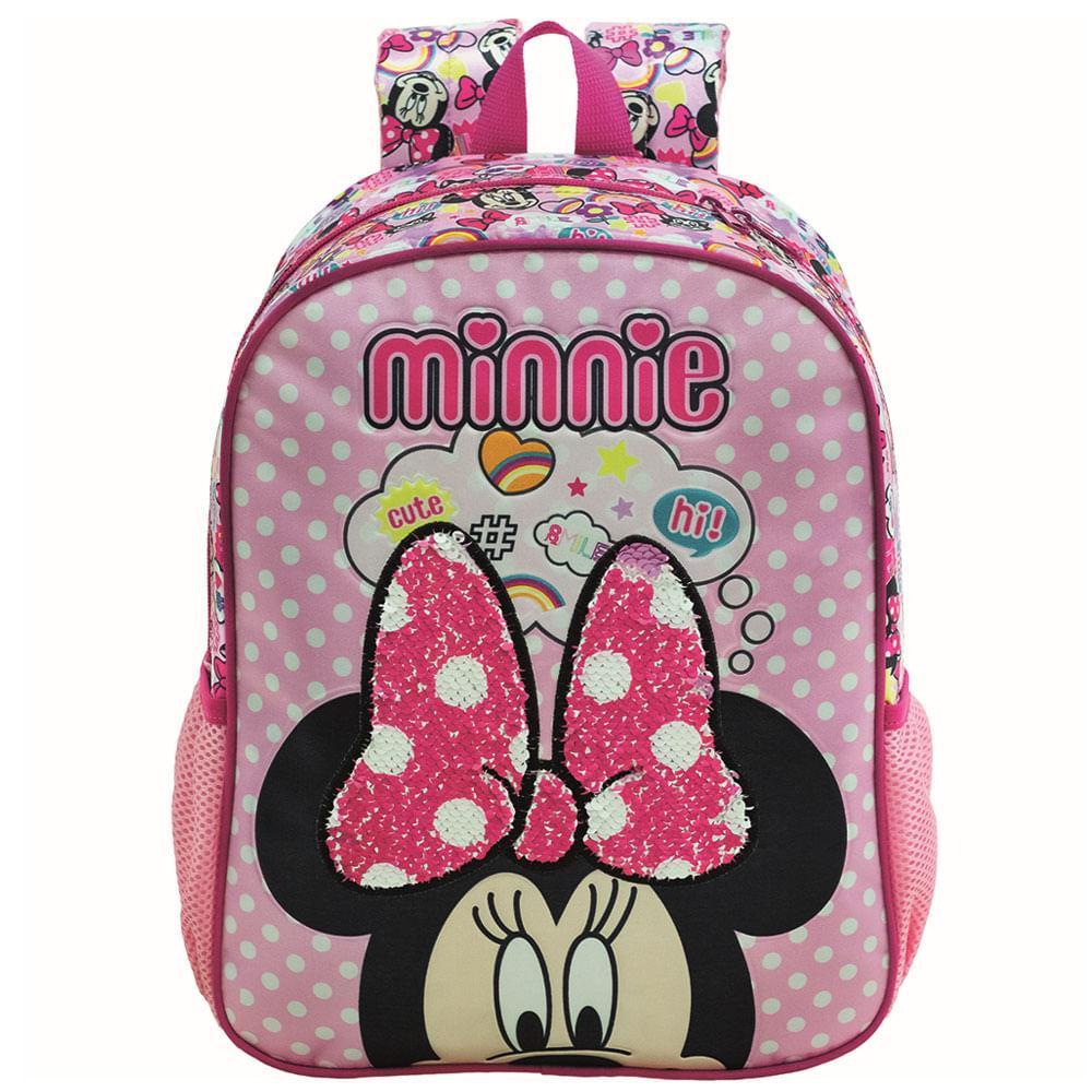 Mochila Infantil - 35x27 Cm - Nº 14 - Disney - Minnie Mouse - Xeryus