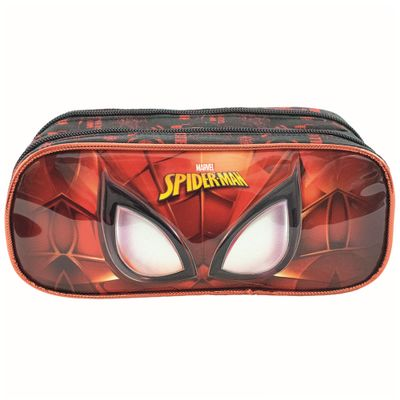 estojo-escolar-duplo-21x9cm-disney-marvel-spider-man-mask-xeryus_frente