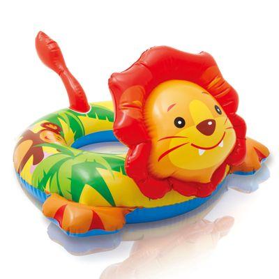 Acessorios-de-Praia-e-Piscina---Boia-com-Cabeca---Baby-Zoo---Leao---New-Toys_Frente