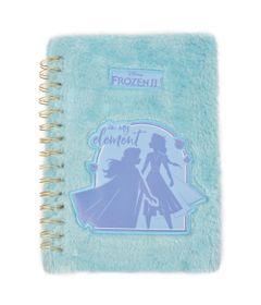 caderno-espiral-duplo-1-4-capa-dura-de-pelucia-frozen-2-80-folhas-azul-dermiwil-37812_Frente