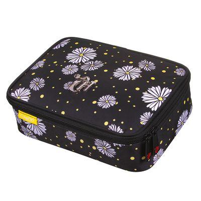 estojo-escolar-soft-luxo-flowers-capricho-preto-dmw-11841_Frente