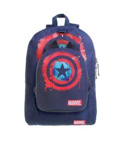 conjunto-de-mochilas-2-pecas-marvel-capitao-america-azul-dmw-11683_Frente