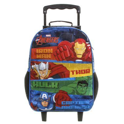 mochila-com-rodinhas-50cm-marvel-vingadores-azul-e-preto-dmw-11589_Frente