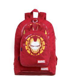 conjunto-de-mochilas-2-pecas-marvel-homem-de-ferro-vermelho-dmw-11684_Frente