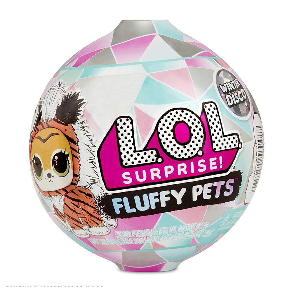 Mini Boneca Surpresa - LOL Surprise! - Fluffy Pets - 9 Surpresas - Candide