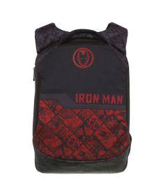 mochila-escolar-40cm-marvel-homem-de-ferro-vermelho-e-preto-dmw-11708_Frente