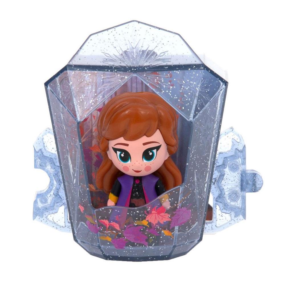 Mini Figura Com Luzes e Cenário - 7 Cm - Disney - Frozen 2 - Anna - Fun