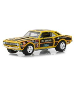 Mini-Veiculo---Die-Cast---1-64---1970-Chevrolet-Camaro-Mr.-Bardahl---Greenlight---California-Toys_Frente