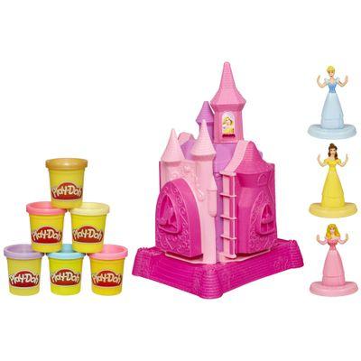 Conjunto-Play-Doh---Princesas-Disney---Castelo-de-Princesas---6-Massinhas---Hasbro_Frente