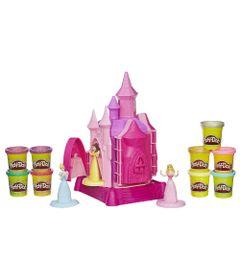 Conjunto-Play-Doh---Princesas-Disney---Castelo-de-Princesas---9-Massinhas---Hasbro_Frente