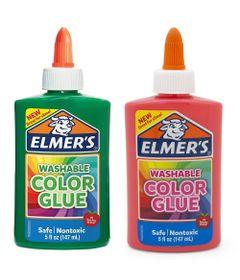 Kit-de-Acessorios-para-Slime---Colas-Coloridas---147-Ml---Rosa-e-Verde---Toyng