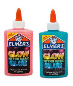Kit-de-Acessorios-para-Slime---Colas-Glitter---Brilham-no-Escuro---Azul-e-Rosa---Toyng