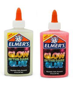 Kit-de-Acessorios-para-Slime---Colas-Glitter---Brilham-no-Escuro---Branco-e-Rosa---Toyng