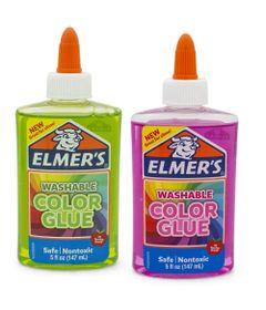 Kit-de-Acessorios-para-Slime---Colas-Translucidas---147-Ml---Rosa-e-Verde---Toyng