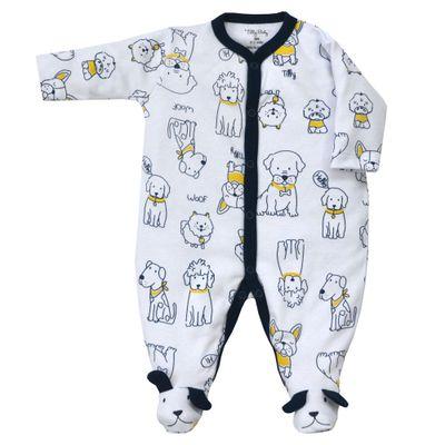 Macacao-Infantil---Manga-Longa-com-Pezinho---100Algodao---Branco---Tilly-Baby---P_frente