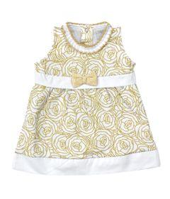 Vestido-Sem-Manga---Estampa-Douradas---100Algodao---Branco---Tilly-Baby---P_frente