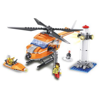 Blocos-de-Montar---343-Pecas---Helicoptero-de-Resgate---FanFun