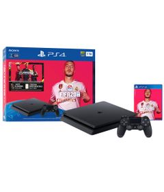 Console---Playstation-4---Slim-Bundle-Hits----1TB---FIFA-2020---Sony