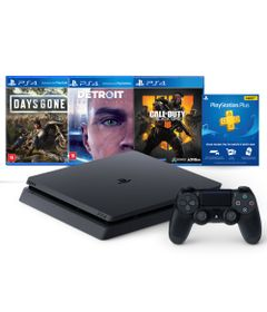 Console---Playstation-4---Slim-Bundle-Hits-5.1---1TB---Sony