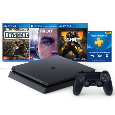 Console---Playstation-4---Slim-Bundle-Hits-5.1---1TB---Sony