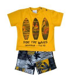conjunto-infantil-com-camisa-manga-curta-pranchas-100-algodao-laranja-tilly-baby--p_frente
