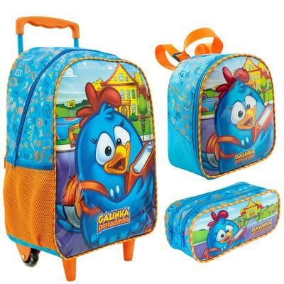 100180722-kit-escolar-mala-com-rodinhas-lancheira-e-estojo-duplo-galinha-pintadinha-xeryus-8900-8904-8905_Frente