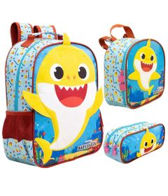 kit-escolar-mochila-lancheira-e-estojo-duplo-baby-shark-xeryus-9043-9044-9045_Frente
