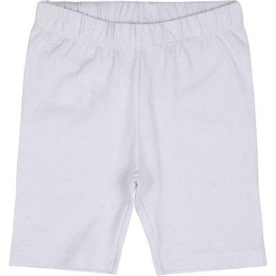 Bermuda-Infantil-Ciclista---Glitter---100--Algodao---Branco---Minimi_Frente