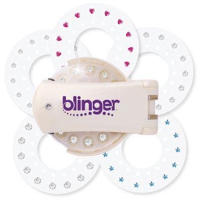 Aplicador-de-Micangas-e-Brilhos---Blinguer-Fashion---Branco---Blinguer