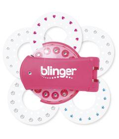 Aplicador-de-Micangas-e-Brilhos---Blinguer-Fashion---Rosa---Blinguer