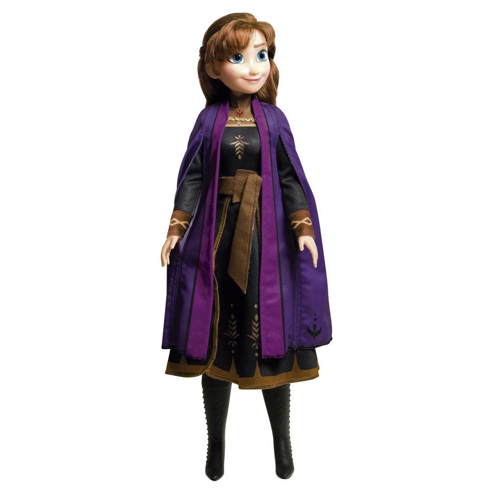 Boneca Articulada - 55 Cm - Mini My Size - Disney - Frozen 2 - Anna - Novabrink