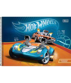 Caderno-de-Cartografia---Espiralado---Capa-Dura---80-Folhas---Hot-Wheels---Carrinhos---Tilibra