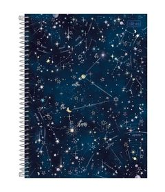 Caderno-Universitario-Espiralado---Capa-Dura---160-Folhas---It-s-Witten-In-The-Stars---Tilibra