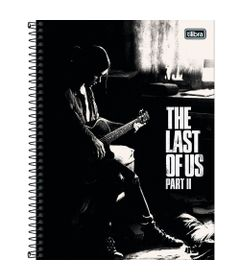 Caderno-Universitario-Espiralado---Capa-Dura---80-Folhas---The-Last-Of-Us---Violao---Tilibra
