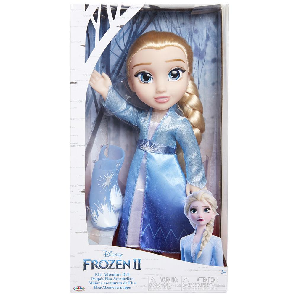 Boneca de Luxo - 37 Cm - Disney - Frozen 2 - Elsa - Mimo