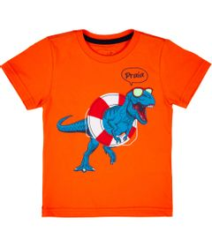 camiseta-manga-curta-t-rex-na-boia-100-algodao-laranja-minimi-4-RH008002_Frente