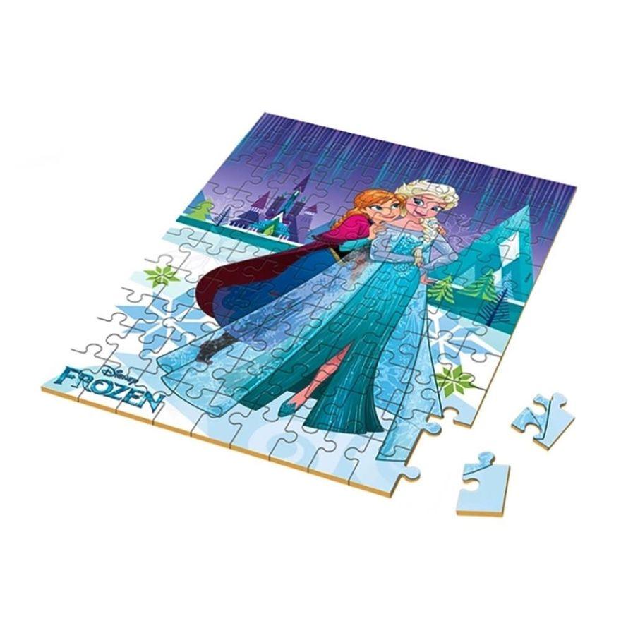 Quebra-Cabeca---100-Pecas---Disney---Frozen-2---Xalingo_Frente